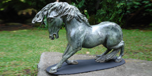 BRONZE ART GALLERY - BRONZE POOL SCULPTURES AND STATUES HORSE!